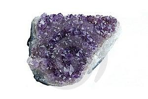 Amethyst Precious Stone Stock Photos - Image: 17528783