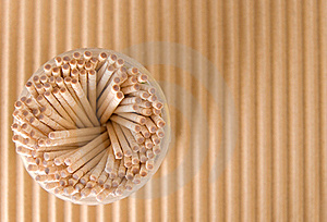 Toothpicks Royalty Free Stock Images - Image: 17529559