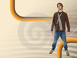 Retro Dude Royalty Free Stock Image - Image: 17532476