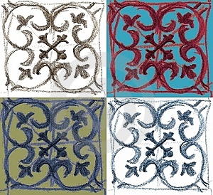 Morrocon Tile Royalty Free Stock Image - Image: 17532896