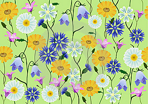 Meadow Flowers Royalty Free Stock Photo - Image: 17534075