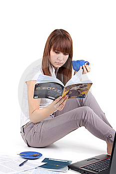 The Student Prepares For Examinations Stock Images - Image: 17537884