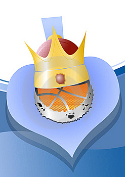 Ball_crown Stock Image - Image: 17538791