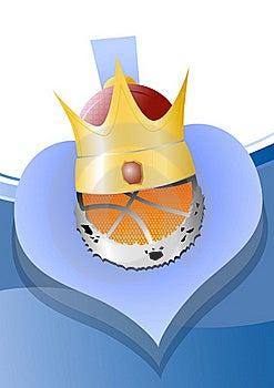 Ball_crown Stock Image - Image: 17538791