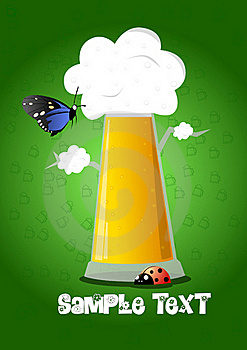 Beer With Animals Royalty Free Stock Photos - Image: 17538838