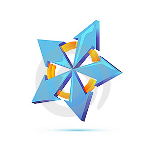 Vector Star Stock Photography - Image: 17541062