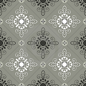 Seamless Pattern Gray Royalty Free Stock Photography - Image: 17544377