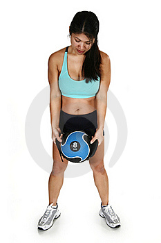 Fitness Attractive Filipino  Woman Stock Image - Image: 17545071