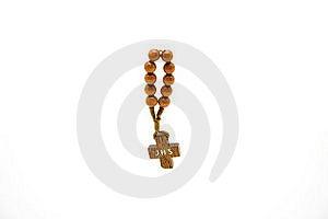 Small Wood Cross Stock Image - Image: 17546581