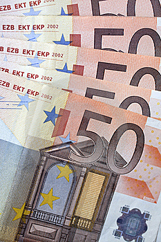 Money - 50 Euro Banknotes Stock Image - Image: 17547031