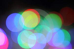 Blurred Background With Lights Stock Photos - Image: 17550273