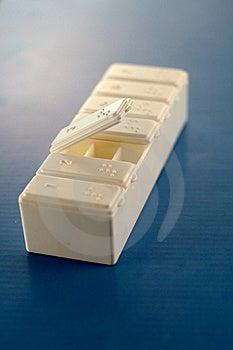 Prescription Drugs In Pill Box Stock Photo - Image: 17555990