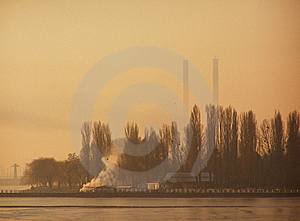 Pollution In City Royalty Free Stock Photos - Image: 17556178