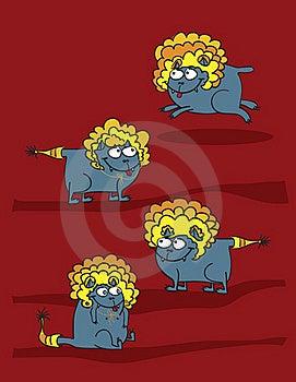 Cat Lion Stock Photo - Image: 17556250