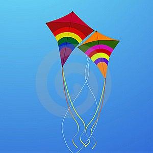 Flying Kites Stock Photo - Image: 17557140