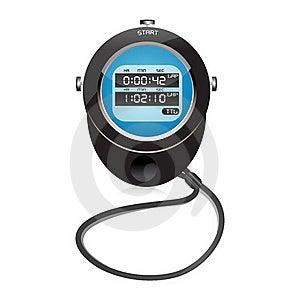 Digital Clock Stock Image - Image: 17557491