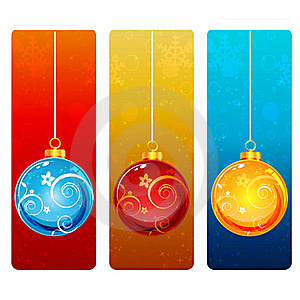 Colorful Christmas Card Stock Images - Image: 17557864
