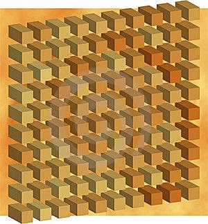 Orange Of Cube Stock Image - Image: 17558021