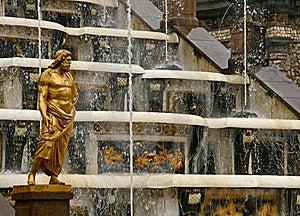 Grand Cascade Fountain. Stock Image - Image: 17558721