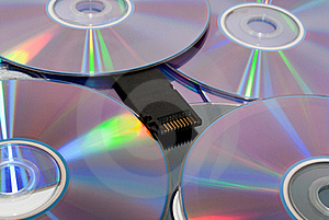 Disks Royalty Free Stock Photo - Image: 17559315