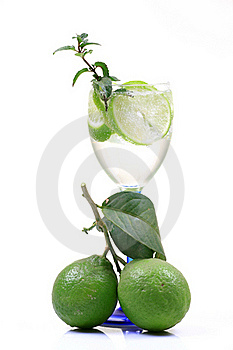 Fresh Lime Water Stock Photography - Image: 17562952