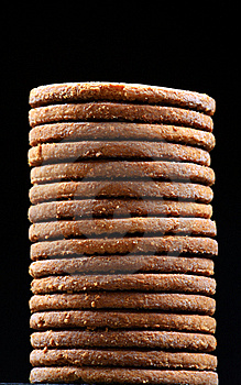 Cookies Pile Royalty Free Stock Photos - Image: 17563888
