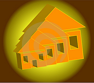 Illustration Simplicity Of Home Stock Image - Image: 17564741