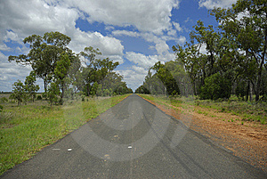 Long Straight Road Stock Photography - Image: 17565172