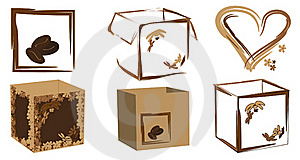 Boxes Stock Images - Image: 17566694