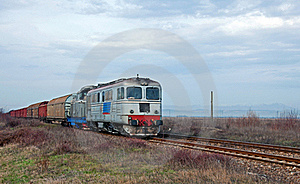 Coming Speedy Train Royalty Free Stock Photo - Image: 17569765