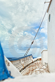 Ship Deck Stock Photography - Image: 17569782