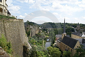 Luxembourg View Stock Photo - Image: 17570260