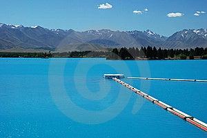 A Beautiful Turquoise Lake Royalty Free Stock Photo - Image: 17571545