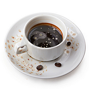 Tainted Coffee Or Wasted Years Stock Photo - Image: 17572050