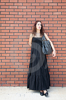 Woman Is Waiting Royalty Free Stock Photography - Image: 17573647