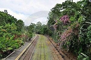 Railway Track Royalty Free Stock Photo - Image: 17574035