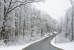 Winter Scenery Royalty Free Stock Photography - Image: 17575387