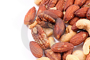 Peanuts Trail Mix Background Stock Photography - Image: 17579412