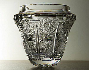 Crystal Glass Bowl Royalty Free Stock Photography - Image: 17582927