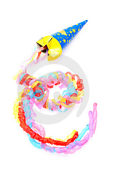 Party Popper Royalty Free Stock Photos - Image: 17583018