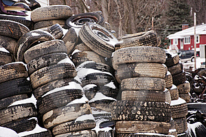 Old Tires Stock Photo - Image: 17583380