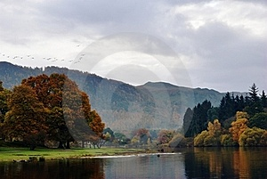 Autumn View From Friar's Crag Royalty Free Stock Photo - Image: 17586365