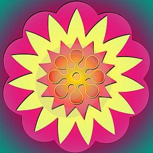 Flower Power & Sun 2 Stock Photo - Image: 17591000