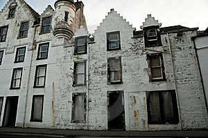 Abandoned Historic Building Royalty Free Stock Image - Image: 17594346