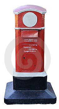 Postbox Old Strong From Thailand Stock Photos - Image: 17594713