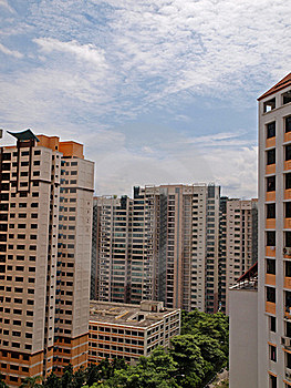 High Rise Housing Royalty Free Stock Images - Image: 17595449