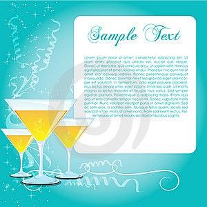 Celebrate Card Royalty Free Stock Image - Image: 17595506