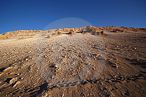 Sunset View Of Atacama Desert, Chile Royalty Free Stock Photo - Image: 17596405