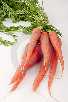 Beam Carrots Stock Images - Image: 17600314