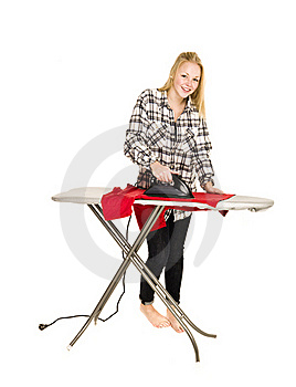 Young Housewife Stock Images - Image: 17600644